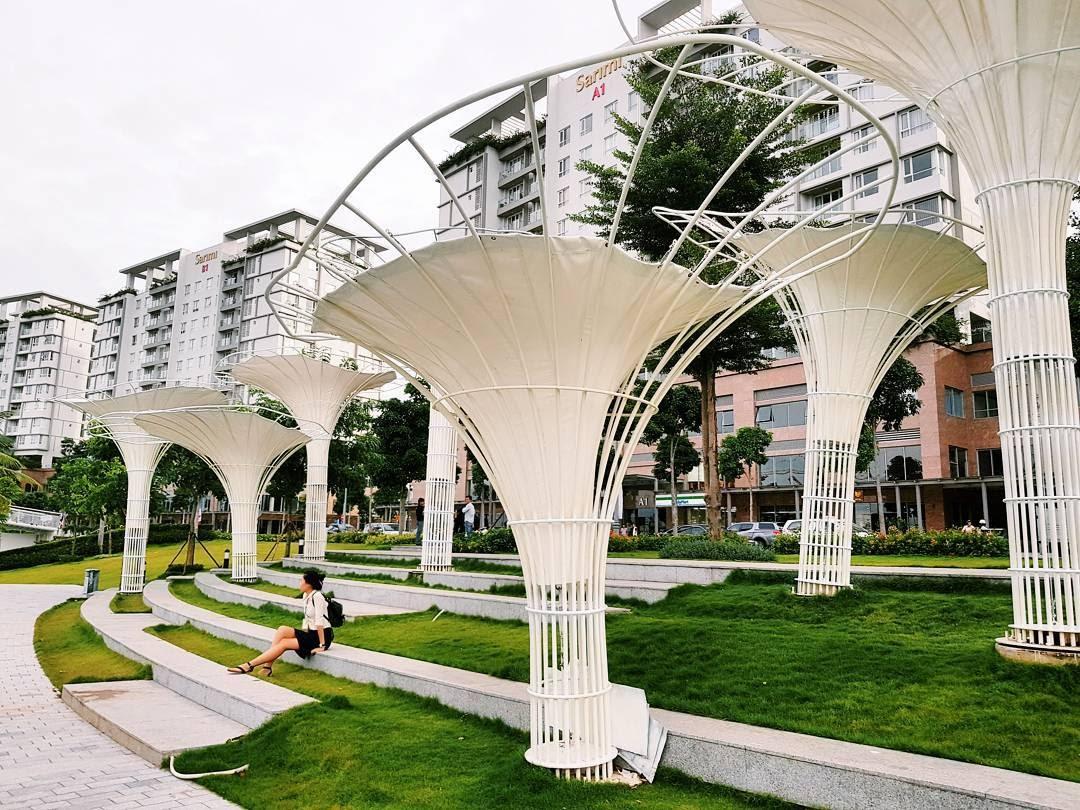 """""""Garden by the Bay"""" phiên bản Sài Gòn - địa điểm chụp hình đẹp ở Sài Gòn đẹp phát mê"""
