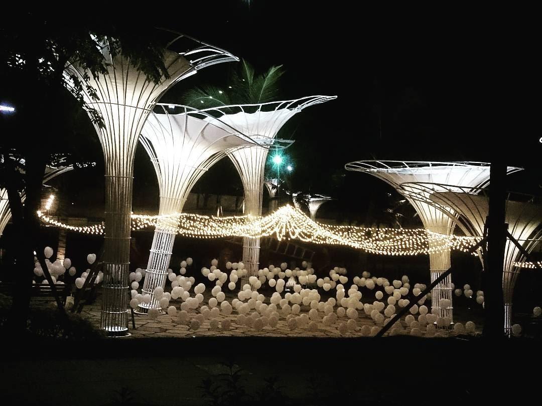 """Vẻ đẹp lung linh huyền ảo tại """"Garden by the Bay"""" phiên bản Sài Gòn"""