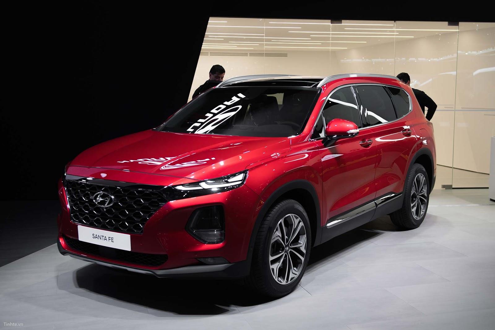 Santa Fe 2019 chính thức được phân phối tại Hyundai Thành Công