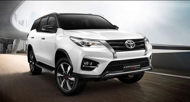 Toyota Fortuner 2020 có 3 tùy chọn động cơ