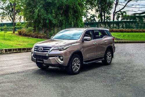 Toyota Fortuner 2020 màu đồng