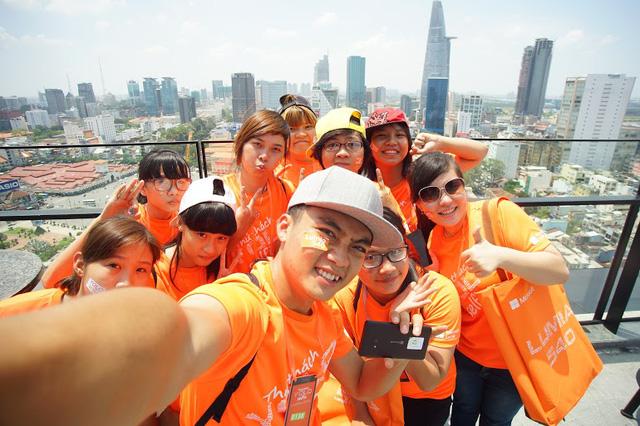 """Lên """"đỉnh"""" thành phố để selfie"""