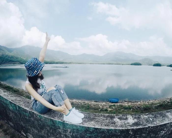Check-in tại hồ Hòa Trung - Đà Nẵng