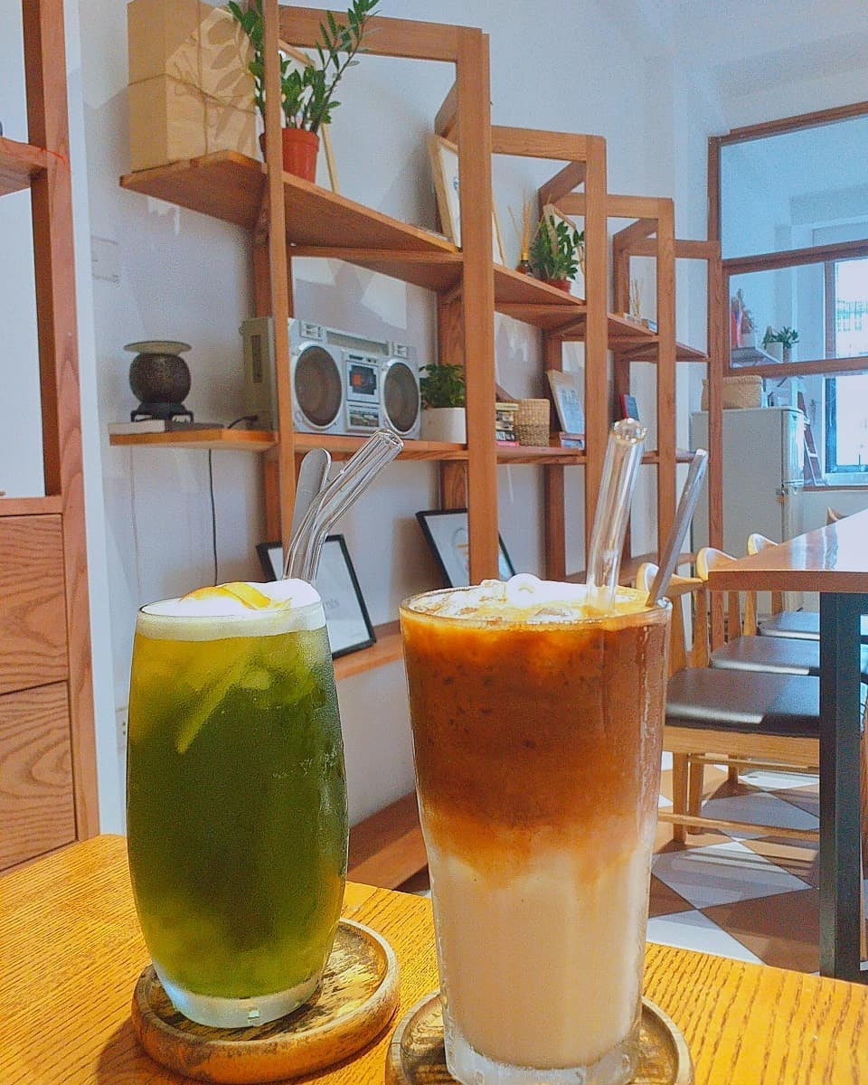 Không chỉ không gian đẹp mà đồ uống tại Kone cafe cũng cực ngon