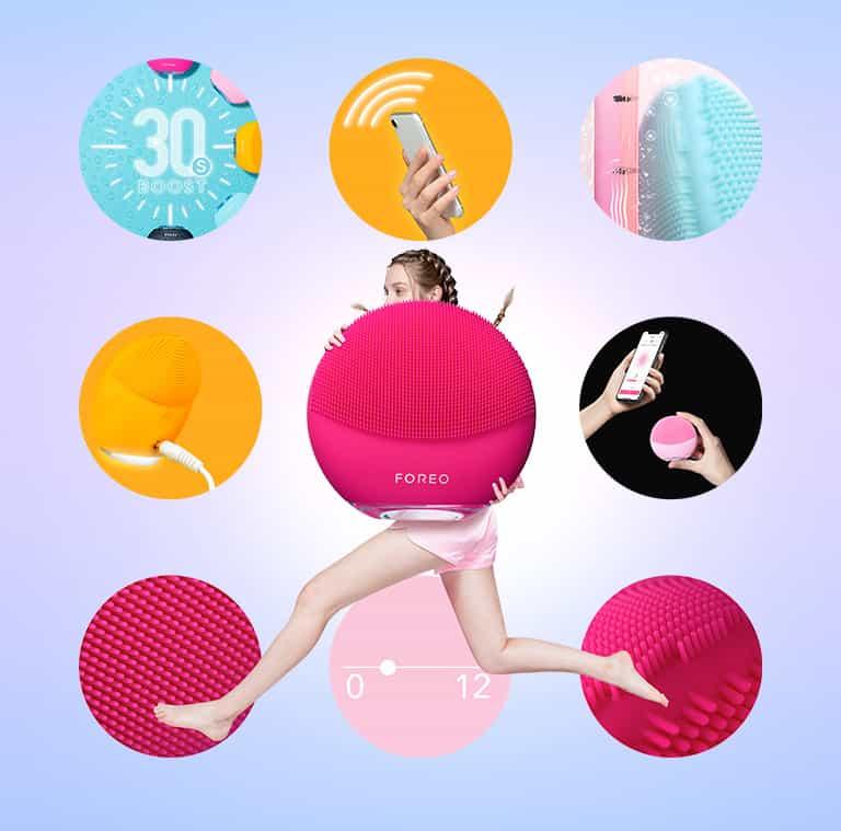 Luna Mini 3 là một chiếc máy rửa mặt tuyệt vời cho phái đẹp