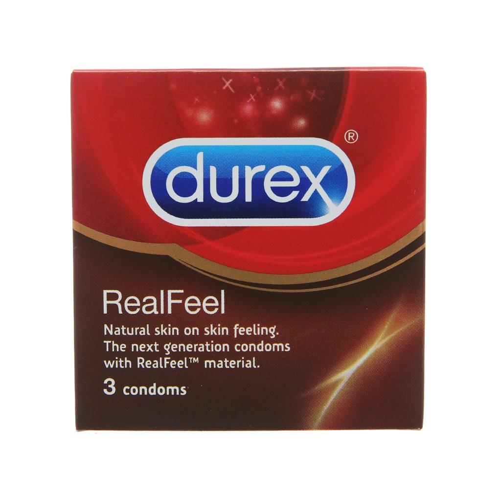 Durex Real Feel được mọi nam giới yêu thích