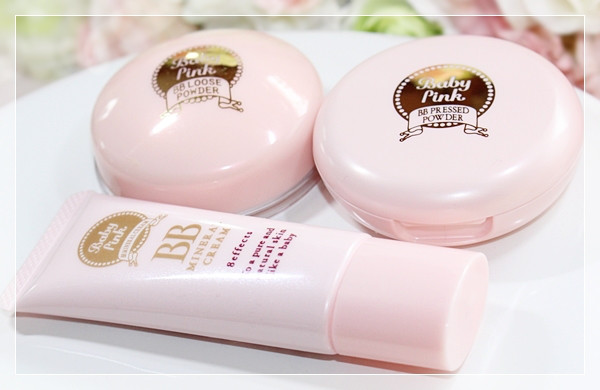 Phấn phủ Baby Pink Mineral Pressed Powder