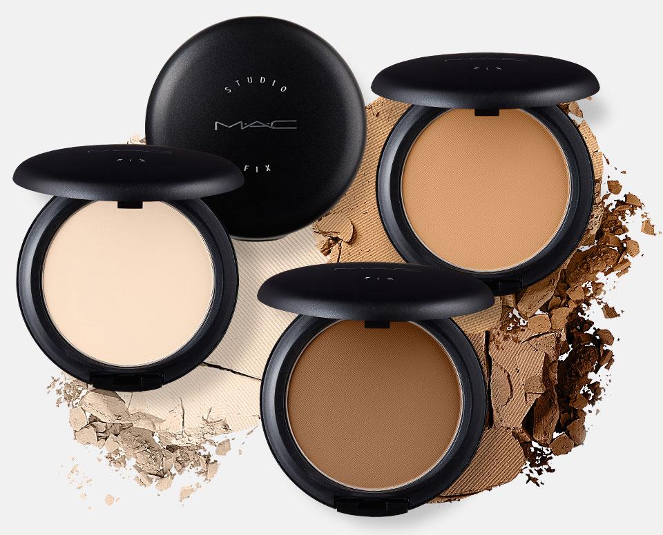 Sử dụng Mac Studio Fix Powder Plus Foundation để có một lớp phủ nền đẹp