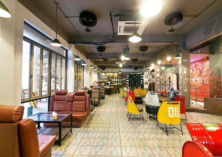 Garafun Cafe - Thế giới của người yêu xe