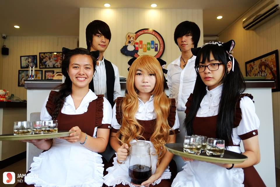 Trải nghiệm cosplay thú vị cùng Melody Cafe