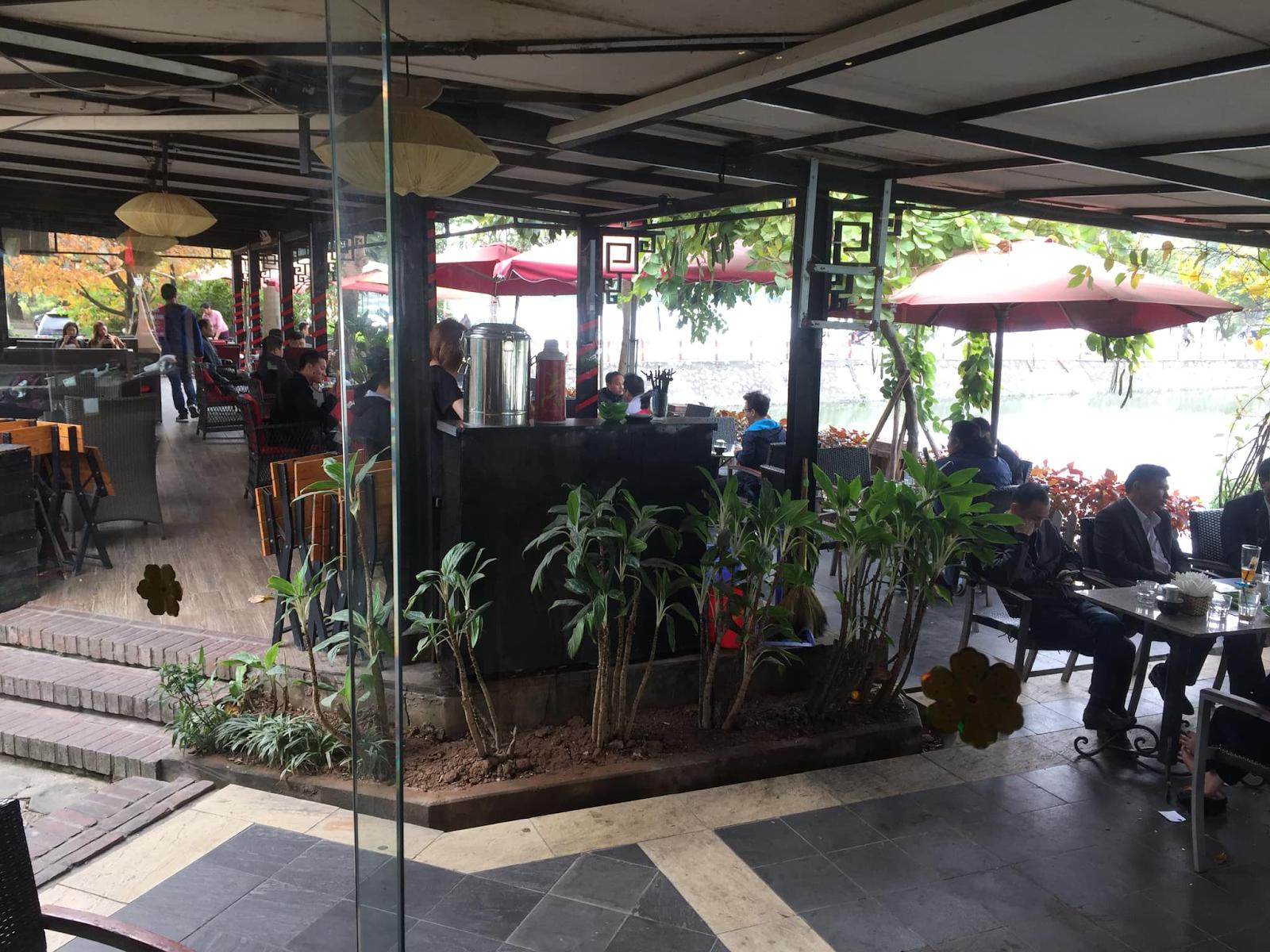Paradise Cafe - Quán cafe view đẹp ở Hà Đông