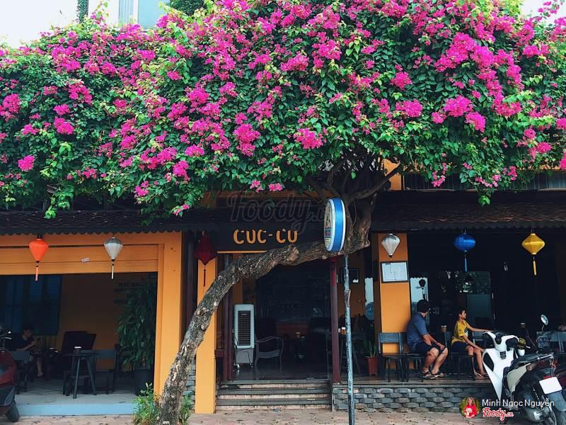 Quán cafe Cúc Cu cực xinh nằm tại khu đô thị Văn Quán