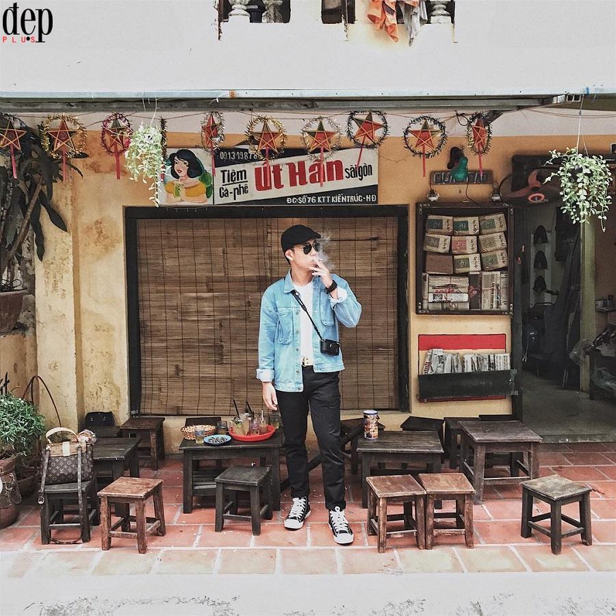 Check-in tại quán cafe đẹp ở Hà Đông - Út Hân Sài Gòn