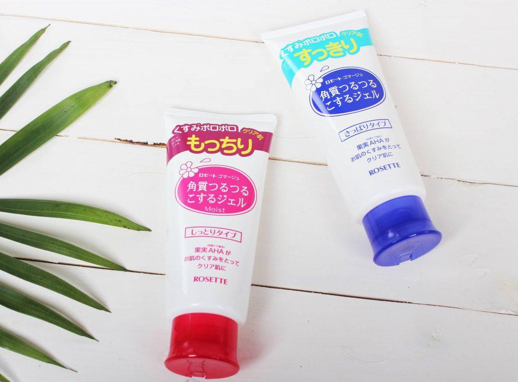Sử dụng tẩy da chết của Nhật giúp làn da sáng khỏe, mịn màng