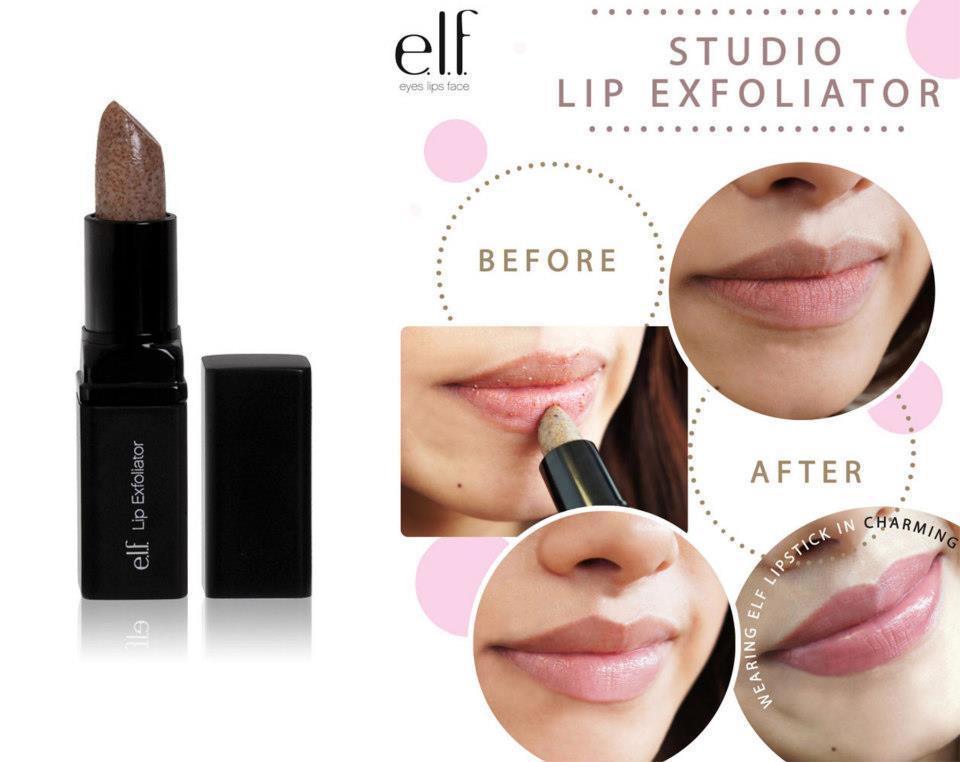 ELF Lip Exfoliator Original giúp đôi môi trở nên tươi hồng, quyến rũ hơn