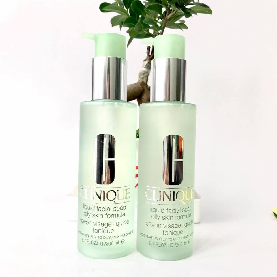 Sữa rửa mặt cho da dầu Clinique Liquid Facial Soap Oily Skin Formula