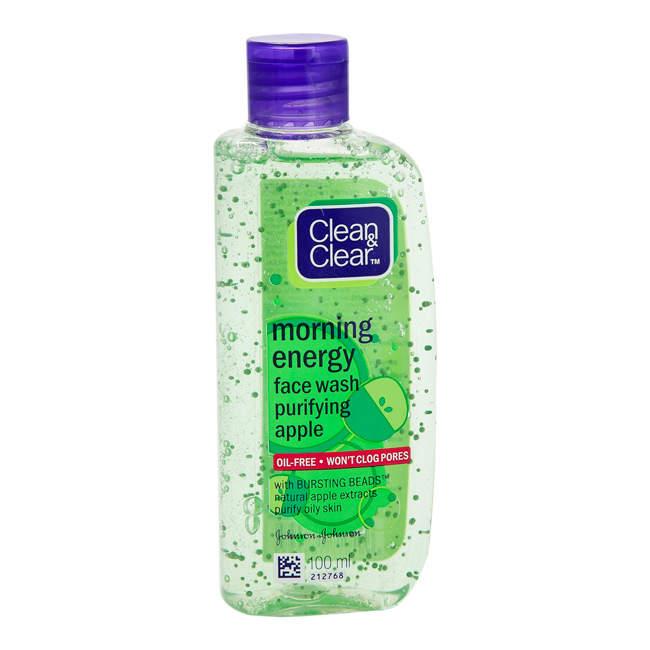 Sữa rửa mặt làm sạch dầu nhờn Clean and Clear Morning Energy Face Wash Purifying Apple