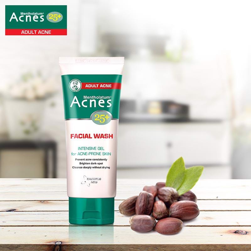 Sữa rửa mặt Acnes 25+ dạng gel Facial Wash