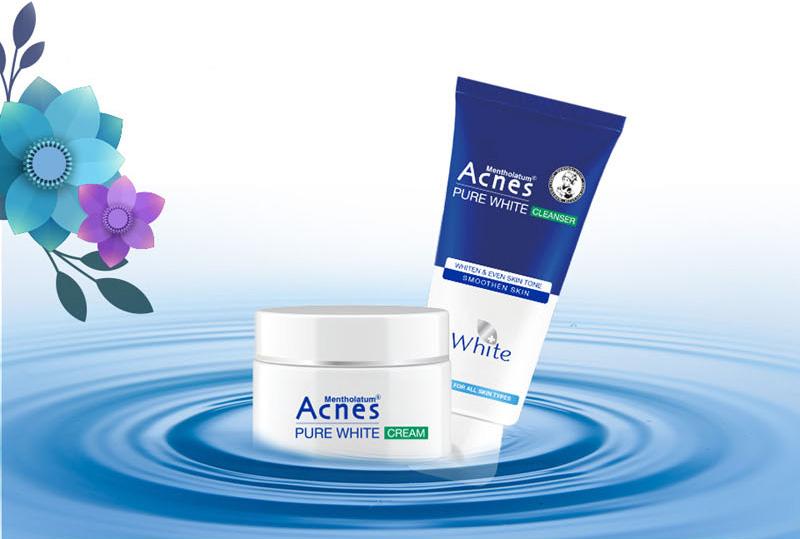 Sữa rửa mặt Acnes Pure White Cleanser