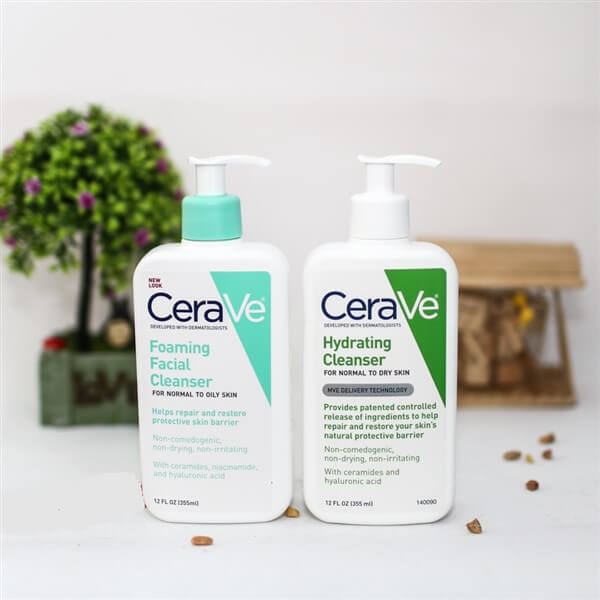Sữa rửa mặt chăm sóc da Cerave có nhiều ưu điểm vượt trội