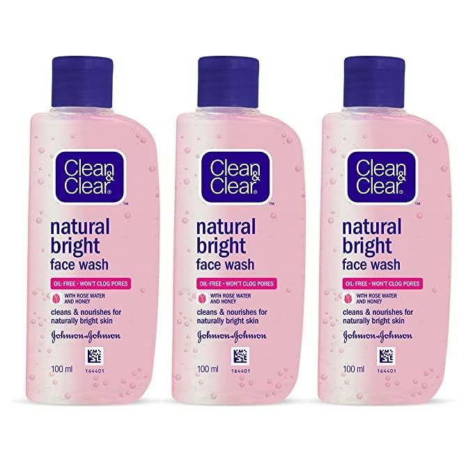 Sữa rửa mặt Clean & Clear Natural Bright Face Wash
