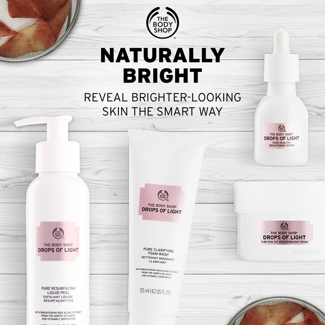 Sữa rửa mặt The Body Shop Drops Of Light