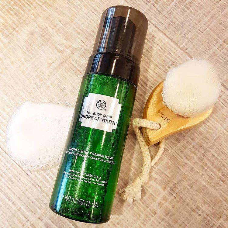 Sữa rửa mặt The Body Shop Drops Of Youth