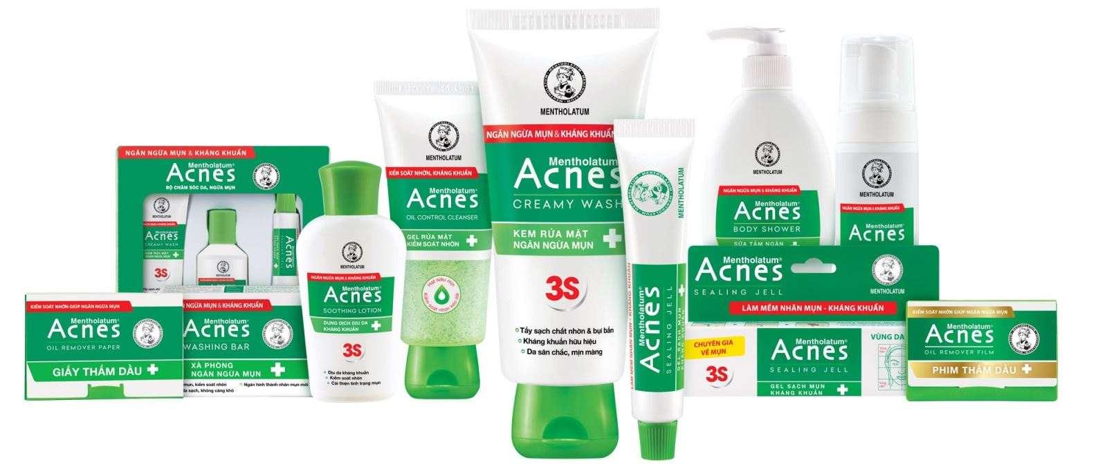 Acnes - Thương hiệu mỹ phẩm uy tín đến từ Nhật Bản