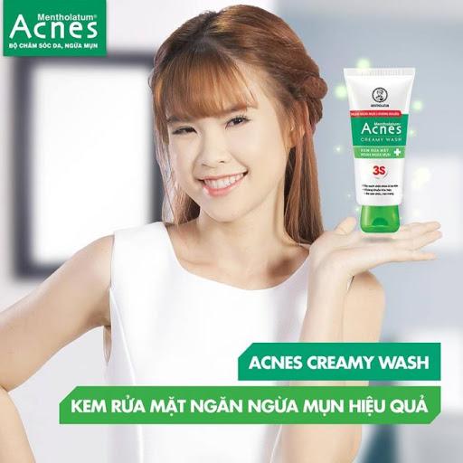 Sữa rửa mặt Acnes 3s Creamy Wash