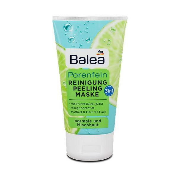 Sữa rửa mặt Balea Porenfein 3 in 1 cho da dầu