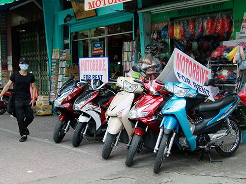 Nếu thuê xe máy ở Huế cần kiểm tra xe kỹ trước