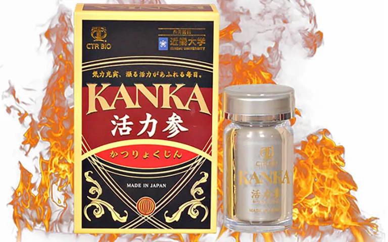 Thuốc bổ thận tráng dương Kanka là gì?
