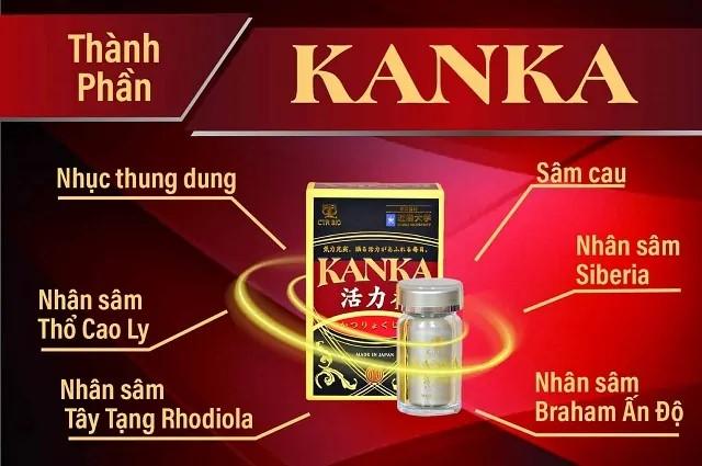 Những thành phần trong thuốc Kanka