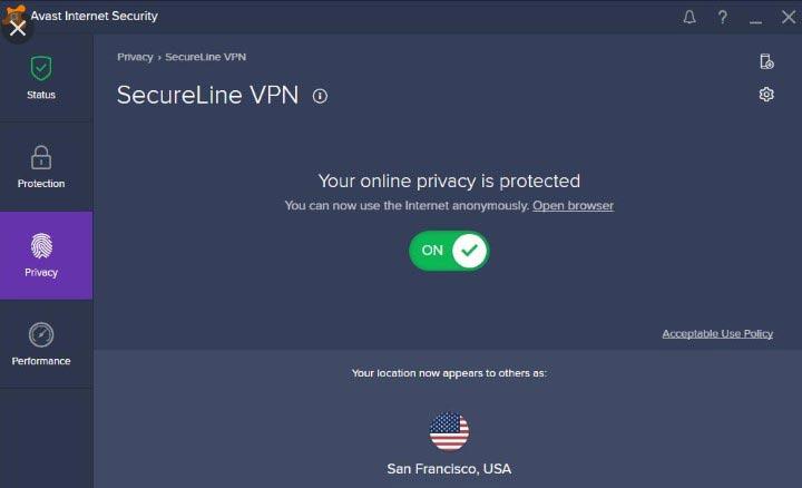 Avast Secureline VPN được phát triển bởi Avast - Thương hiệu nổi tiếng toàn cầu