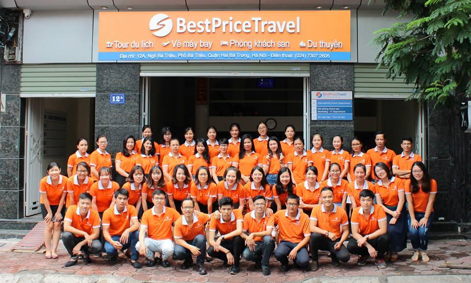 Giá dịch vụ tại công ty du lịch BestPrice hợp lý