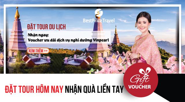 Đặt tour ngay tại BestPrice Travel để nhận quà liền tay