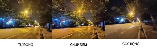 Người dùng không nên sử dụng camera góc siêu rộng để chụp vào buổi tối