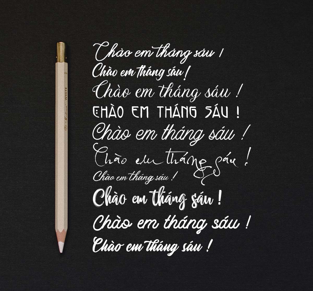 Một số mẫu font chữ viết tay Việt hóa đẹp