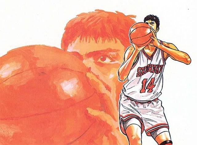 Nhân vật Hisashi Mitsui từng là cầu thủ xuất sắc nhất ở giải đấu thời trung học