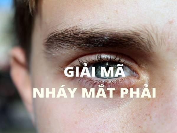 Giải mã nháy mắt phải ở nam giới