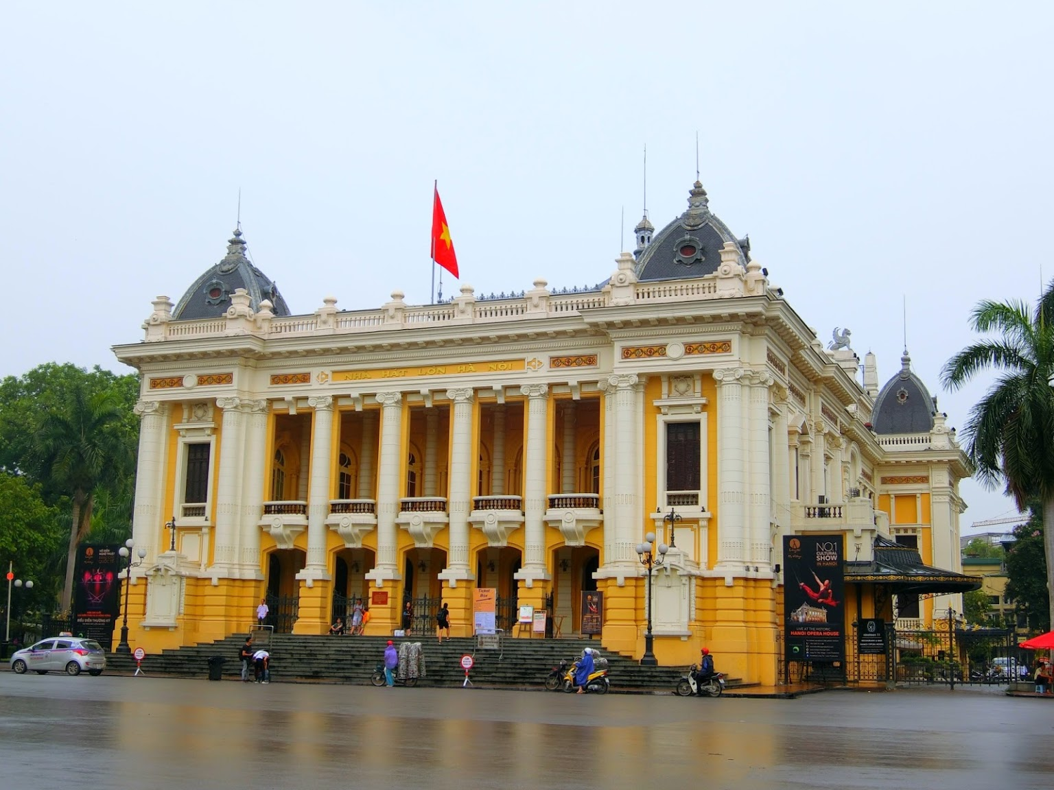 Nhà Hát Lớn Hà Nội- Danh thắng Hàn Nội nổi tiếng