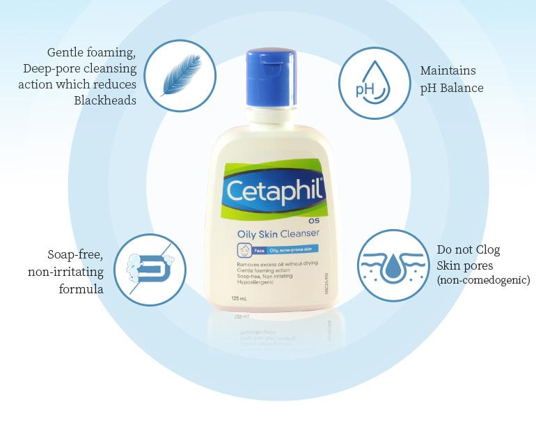 Sữa rửa mặt Cetaphil Oily Skin Cleanser cho da dầu