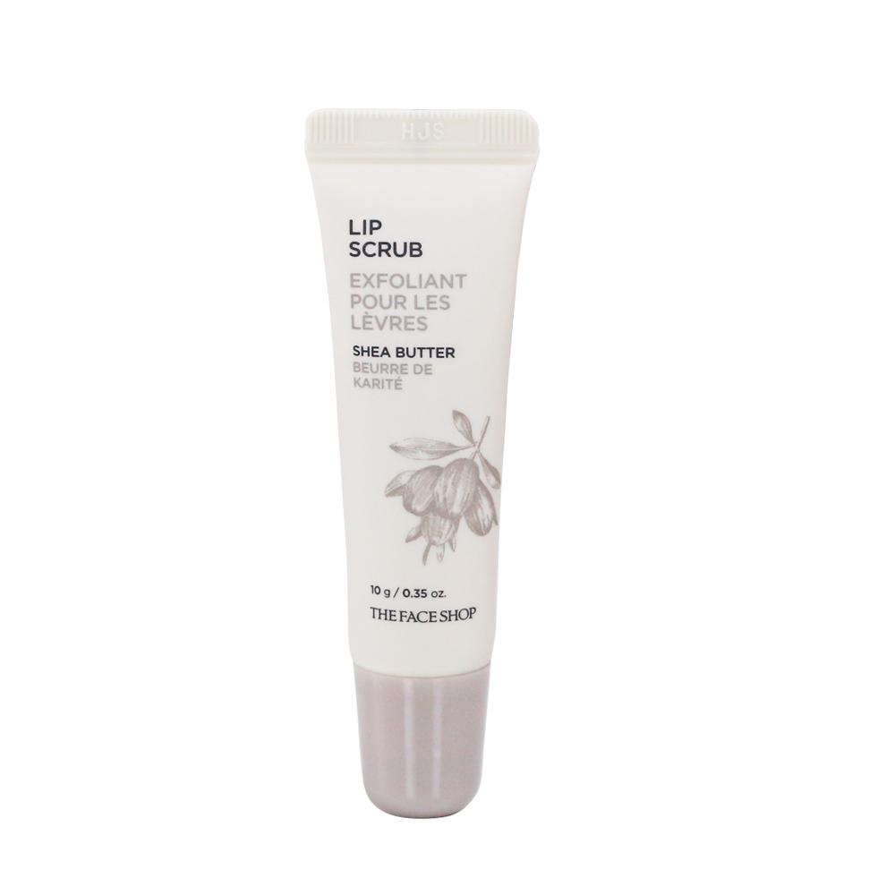 Tẩy tế bào chết cho môi LIP Scrub Shea Butter The Face Shop cực hiệu quả