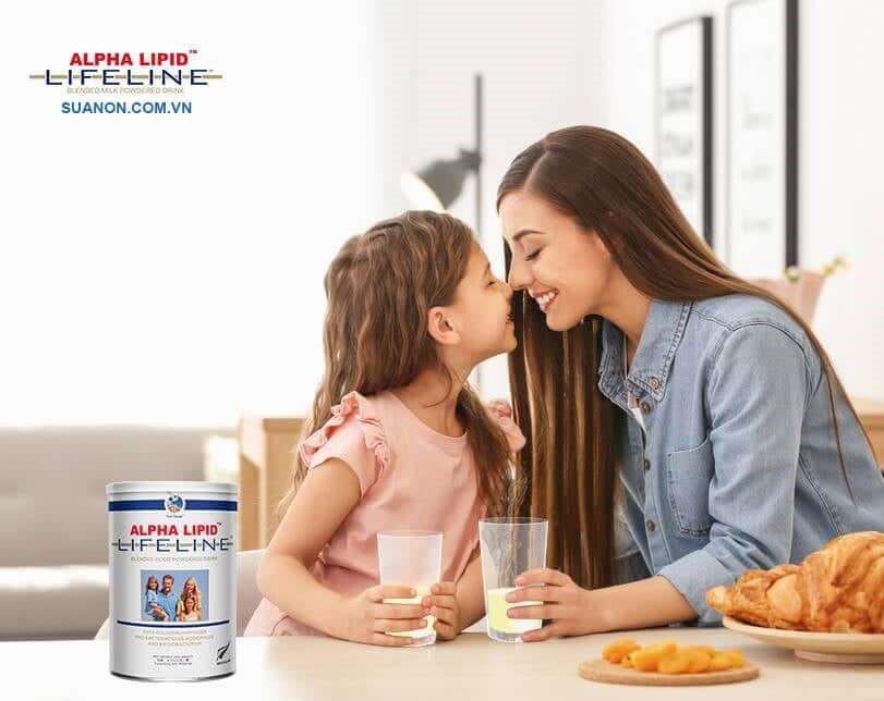 Sữa Alpha Lipid giúp tăng cường sức khỏe