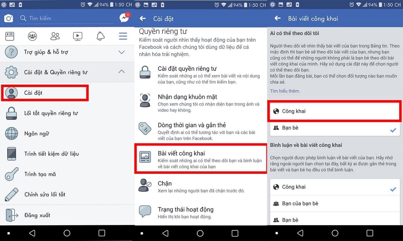 cách bật chế độ theo dõi trên Facebook