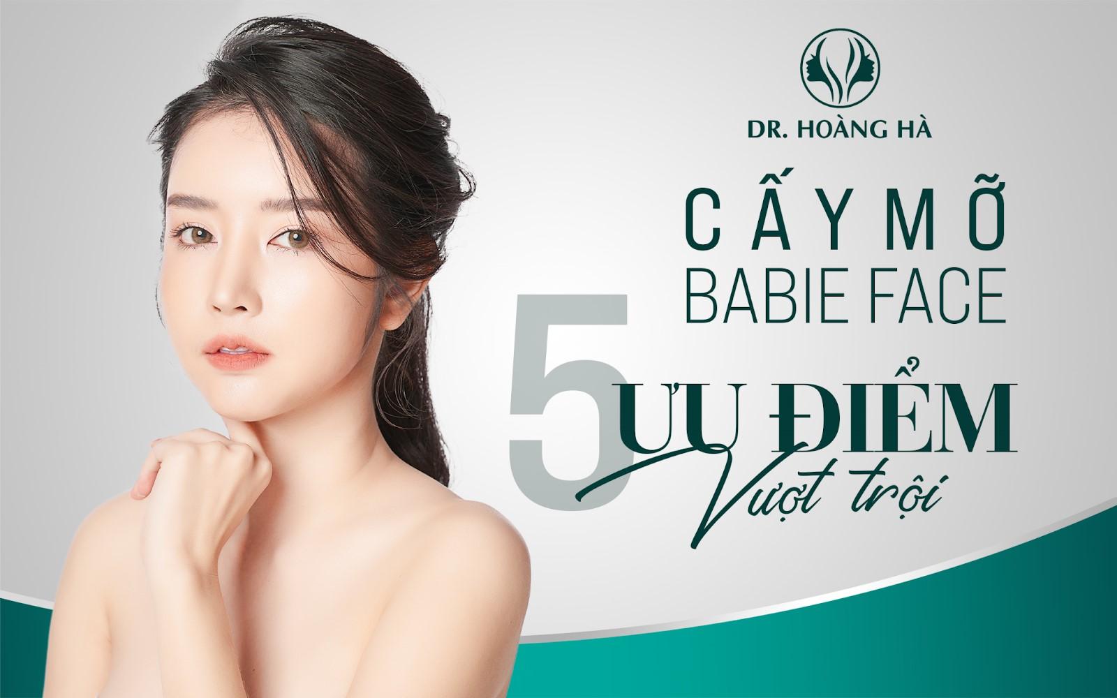 Dịch vụ cấy mỡ mặt tại Dr Hoàng Hà có nhiều ưu điểm