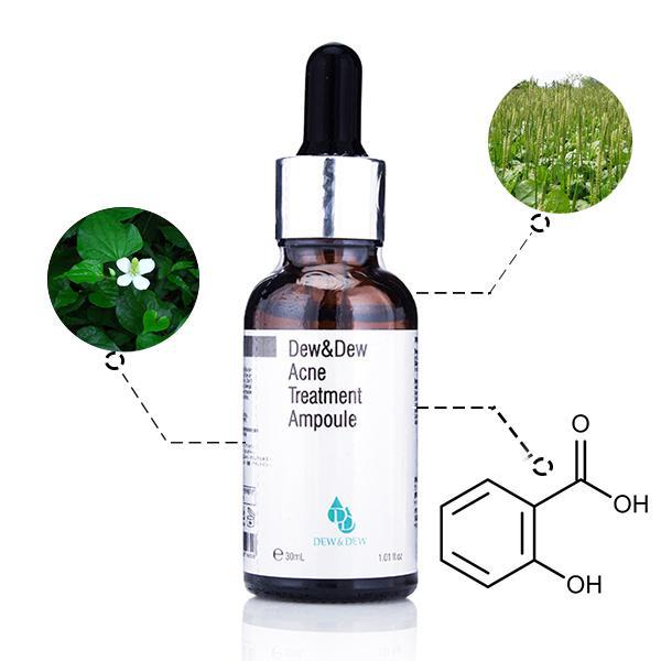 Serum đặc trị mụn Dew & Dew Acne Treatment Ampoule
